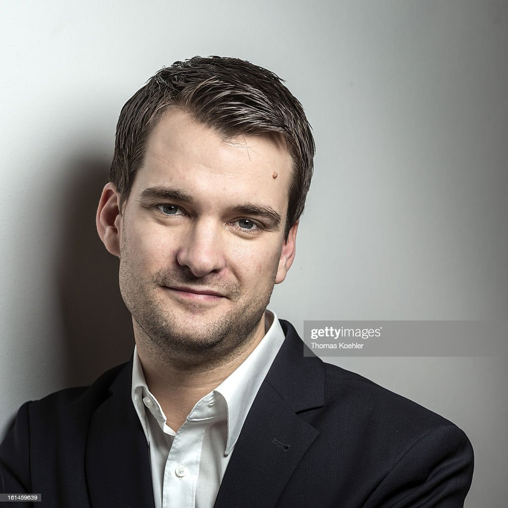 Johannes Vogel, member of German Free Democrats political party (FDP), poses for a phototgraph on January 29, 2013 in Berlin, Germany.
