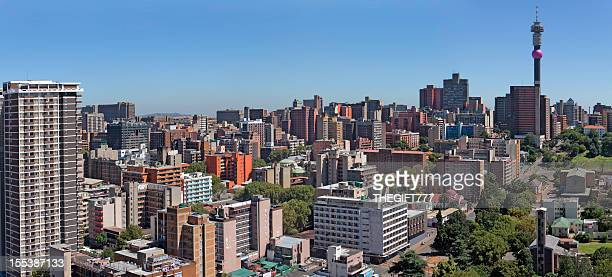 Johannesburg and Hillbrow panorama