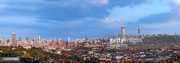 Johannesburg Sunrise Cityscape