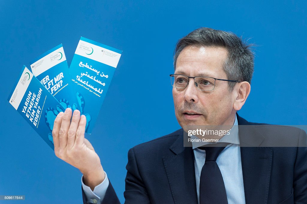 Johannes-Wilhelm Roerig, Independent representative for questions about child abuse, during a press conference on February 11, 2016 in Berlin. The action picks out as a central theme the conditions of service contracts.