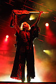 John 5 of Rob Zombie performs onstage at Catton Park on August 9 2015 in Burton upon Trent England