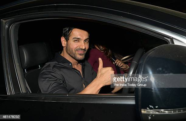John Abraham at the announcement ceremony of Hera Pheri 3