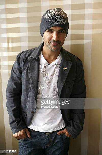 John Abraham during 2007 Cannes Film Festival UTV Portraits at Majestic Hotel in Cannes France