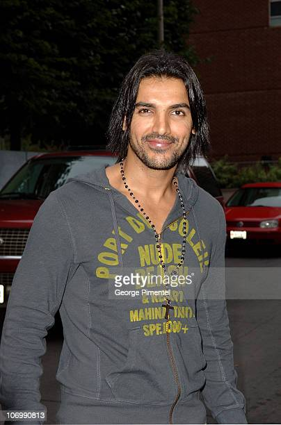 John Abraham during 31st Annual Toronto International Film Festival Arrivals for 'Kabul Express' Press Conference at Sutton Place in Toronto Ontario...