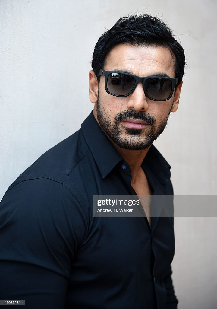 John Abraham poses during a portrait session on day three of the 11th Annual Dubai International Film Festival held at the Madinat Jumeriah Complex on December 12, 2014 in Dubai, United Arab Emirates.