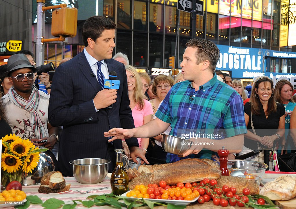 AMERICA - John Adler shares the secrets of Italian cooking on 'Good Morning America,' 8/22/13, airing on the ABC Television Network. (Photo by Donna Svennevik/ABC via Getty Images) JOSH