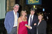 John Alderton Tom Conti and his wife and Pauline Collins attend the opening night of 'Peggy Sue Got Married' at The Shaftsbury Theatre followed by...