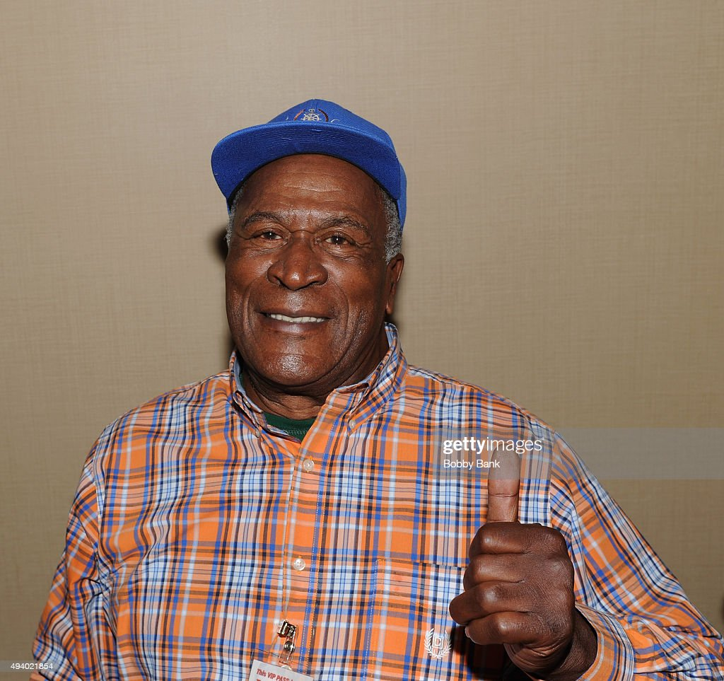 John Amos attends Day 1 of the Chiller Theatre Expo at Sheraton Parsippany Hotel on October 23, 2015 in Parsippany, New Jersey.