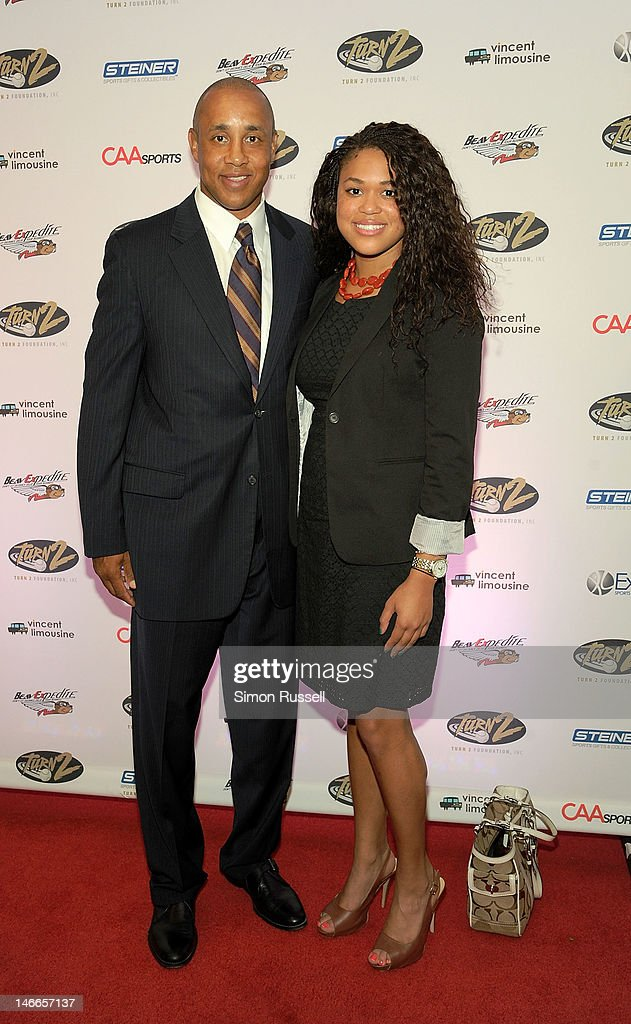 John and Chelsea Stokes attend the 16th Annual Turn 2 Foundation Dinner Hosted By Derek Jeter at New York Sheraton Hotel & Tower on June 21, 2012 in New York City.