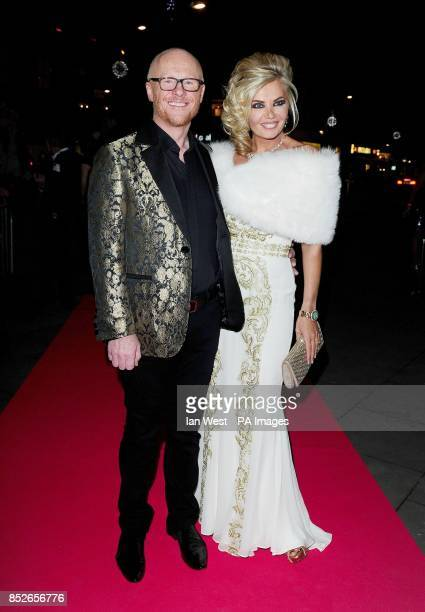 John and Claire Caudwell attending The Global Angels Awards at The Roundhouse Camden London