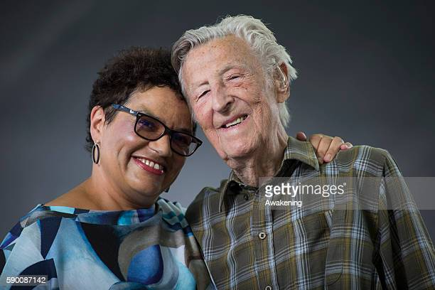 John and Jackie Kay attends the Edinburgh International Book Festival on August 16 2016 in Edinburgh Scotland The Edinburgh International Book...