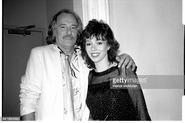 John and Mackenzie Phillips at the Mackenzie Phillips party at Limelight February 1984
