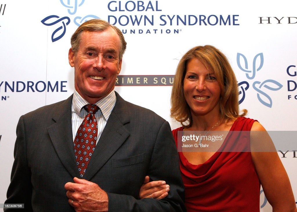 John and Nicole McGinley attend the Global Down Syndrome Foundation's Be Yourself Be Beautiful Fashion Show at Sheraton Downtown Denver Hotel on September 28, 2013 in Denver, Colorado.
