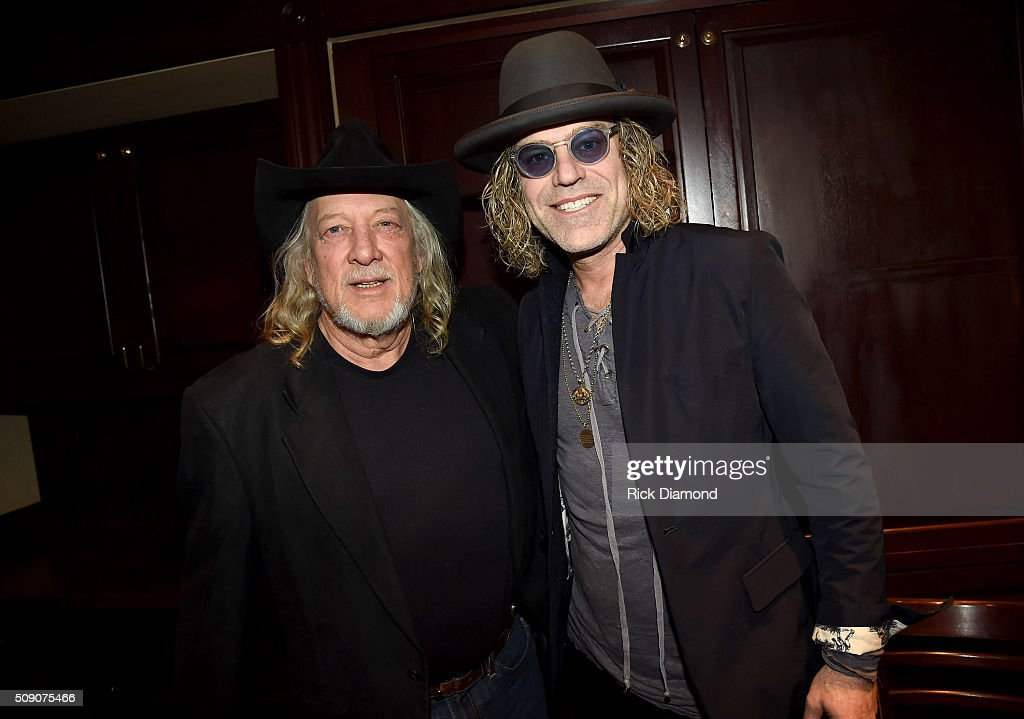 John Anderson and Big Kenny attend the 2nd Annual Legendary Lunch presented by Webster Public Relations and CMA at The Palm Restaurant on February 8, 2016 in Nashville, Tennessee.