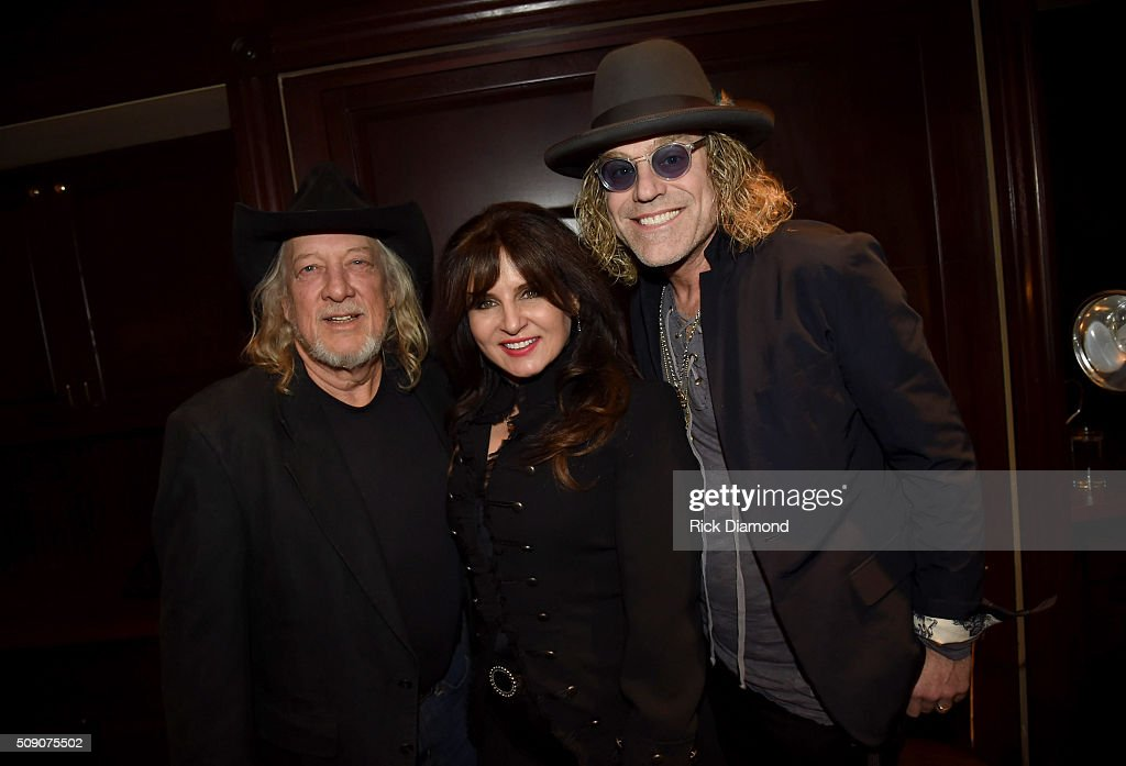 John Anderson, Deborah Allen, and Big Kenny attend the 2nd Annual Legendary Lunch presented by Webster Public Relations and CMA at The Palm Restaurant on February 8, 2016 in Nashville, Tennessee.