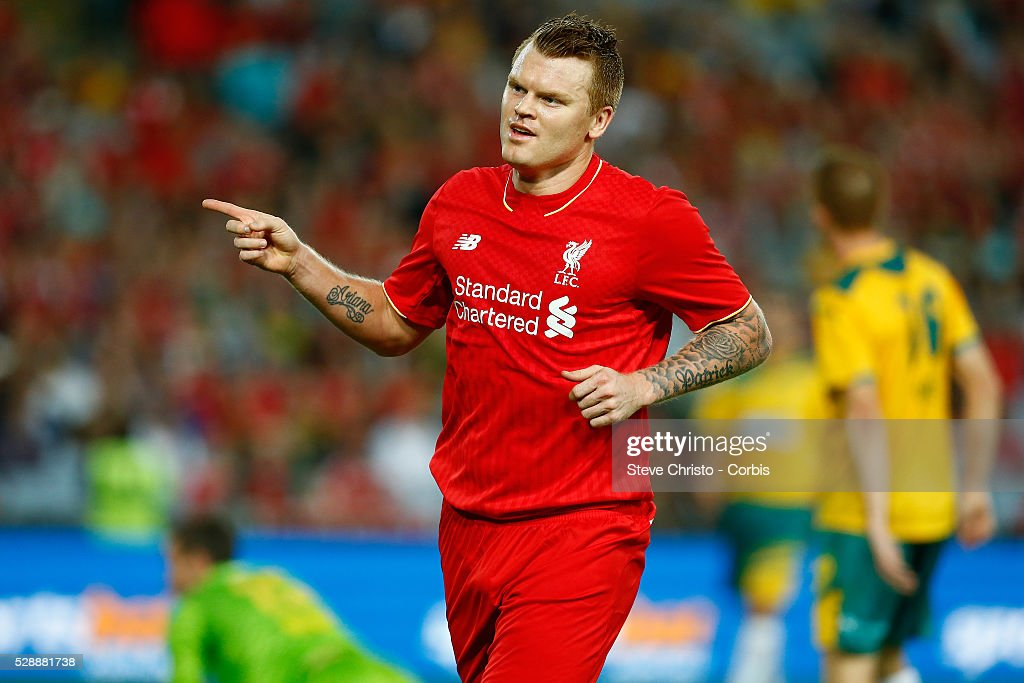 Soccer - Liverpool FC Legends vs. Australian Legends : News Photo