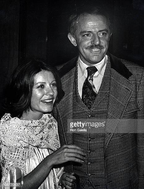 John Astin and Patty Duke during ABC Affiliate Banquet May 12 1977 at Century Plaza Hotel in New York City New York United States