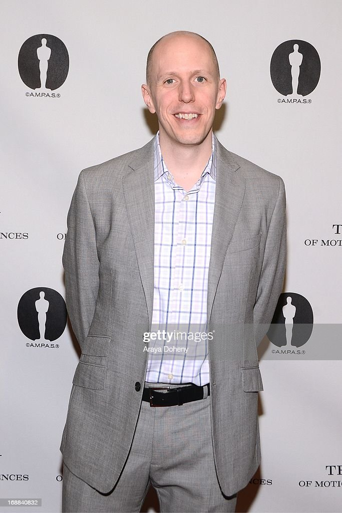 John August attends 'Turning The Page: Storytelling in the Digital Age' presented by The Academy Of Motion Pictures Arts And Sciences at the Academy of Motion Picture Arts and Sciences on May 15, 2013 in Beverly Hills, California.