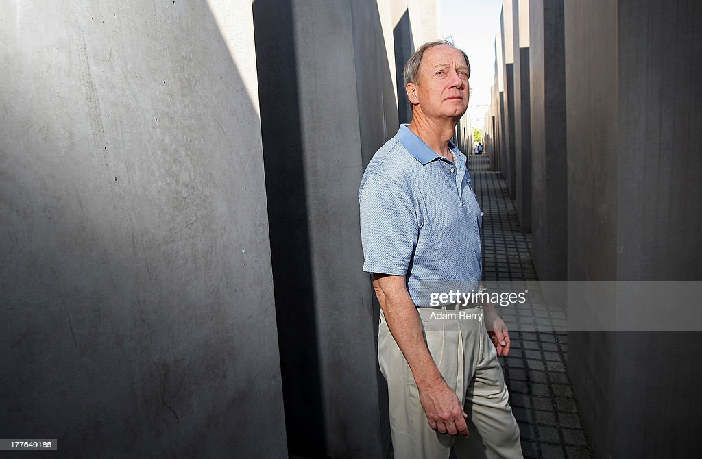 John B. Emerson, designated U.S. ambassador to Germany, visits the Holocaust Memorial, or Memorial to the Murdered Jews of Europe (Denkmal fuer die ermordeten Juden Europas), during a tour of Berlin with his family on August 25, 2013 in Berlin, Germany. Emerson, nominated by U.S. President Barack Obama on June 14, 2013 and officially sworn in by U.S. Secretary of State John F. Kerry on August 7, 2013, has been the President of Capital Group Private Client Services since 1997.