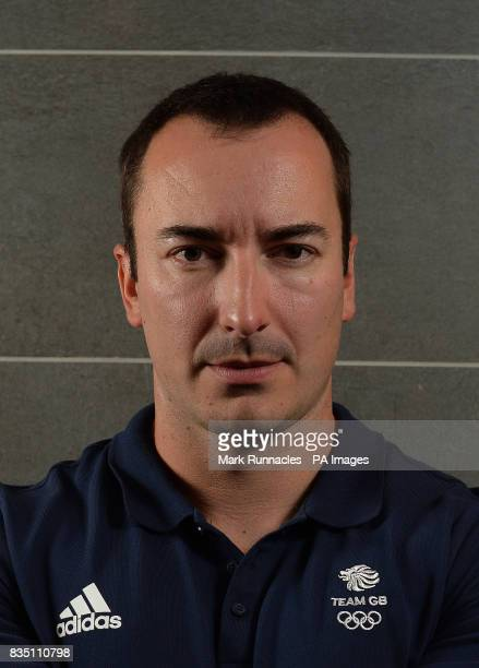 John Baines during the PyeongChang 2018 Olympic Winter Games photocall at Heriot Watt University Oriam PRESS ASSOCIATION Photo Picture date Friday...