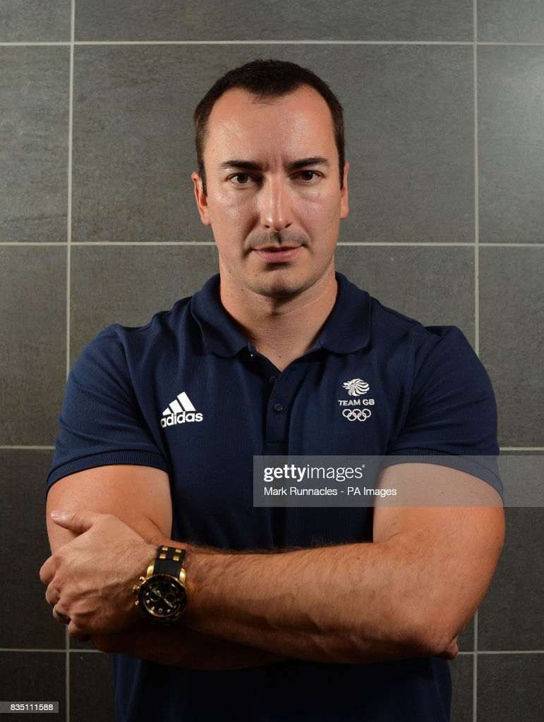 John Baines during the PyeongChang 2018 Olympic Winter Games photocall at Heriot Watt University, Oriam.