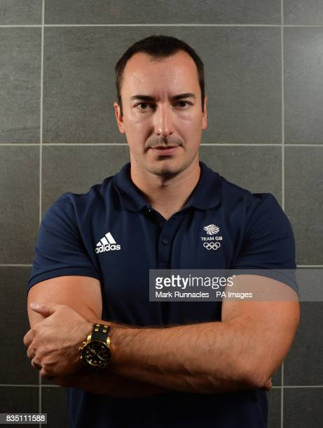 John Baines during the PyeongChang 2018 Olympic Winter Games photocall at Heriot Watt University Oriam