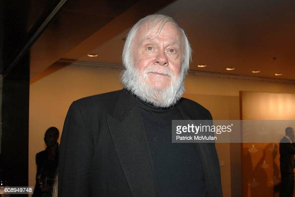 John Baldessari attends ROLEX MENTOR and PROTEGE ARTS INITIATIVE at New York State Theatre Lincoln Center on November 12 2007 in New York City