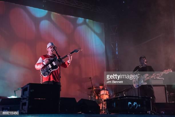 John Baldwin Gourley Jason Sechrist and Zachary Scott Carothers during Austin City Limits Festival at Zilker Park on October 8 2017 in Austin Texas