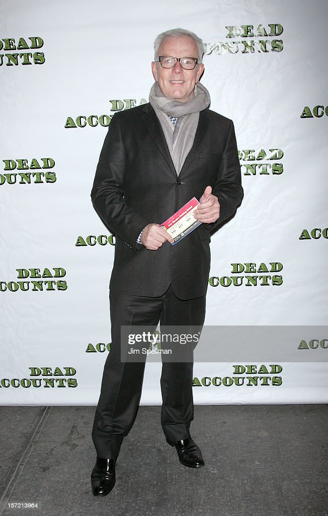 John Barrett attends 'Dead Accounts' Broadway Opening Night at Music Box Theatre on November 29, 2012 in New York City.