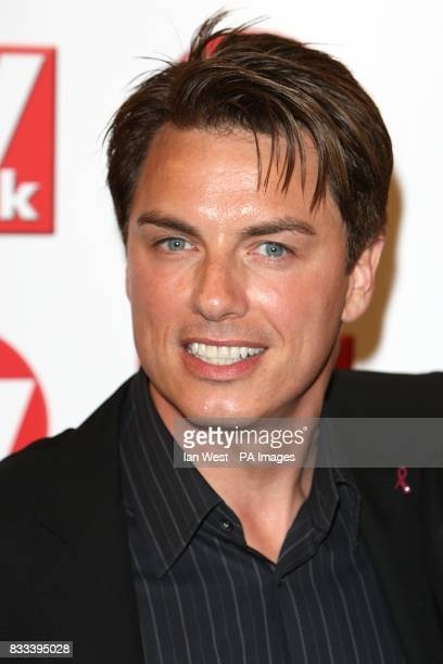 John Barrowman arriving for the TV Quick and TV Choice awards at The Dorchester London