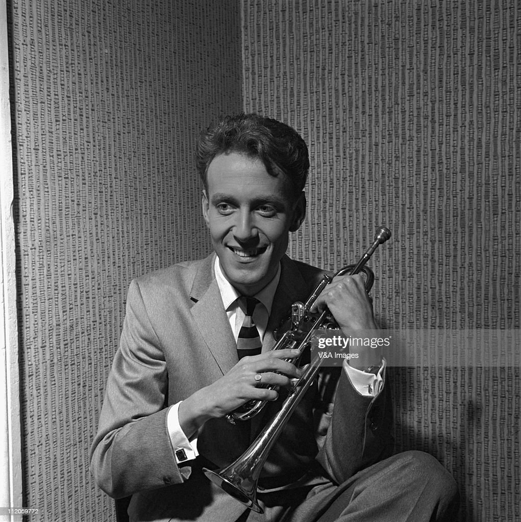 John Barry posed backstage at NME Poll Winners Party concert Wembley Empire Pool 20 February 1960