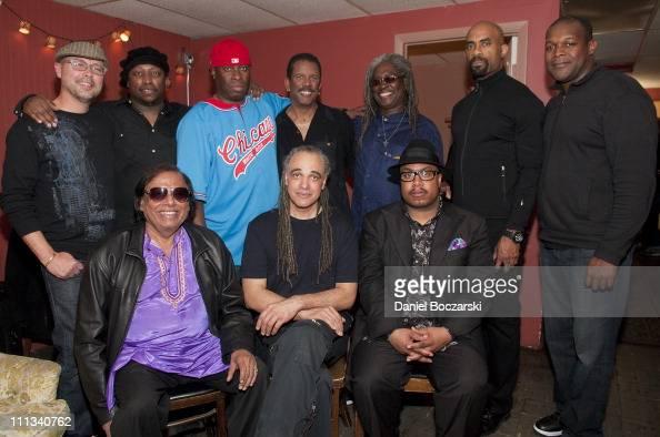 John Beasley Darryl Jones Vince Wilburn Jr Munyungo Jackson Blackbird McKnight Gary Thomas DJ Logic Badal Roy Mino Cinelu and Nicholas Payton attend...