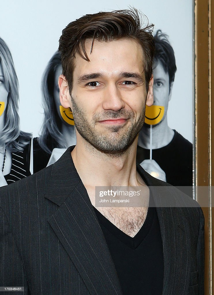 John Behlmann attends 'Reasons To Be Happy' Broadway Opening Night at the Lucille Lortel Theatre on June 11, 2013 in New York City.