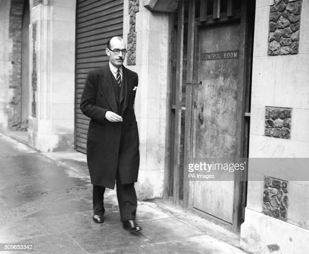 John Belcher Parliamentary Secretary to the Board of Trade arrives at the tribunal of inquiry into allegations of corruption among British government...