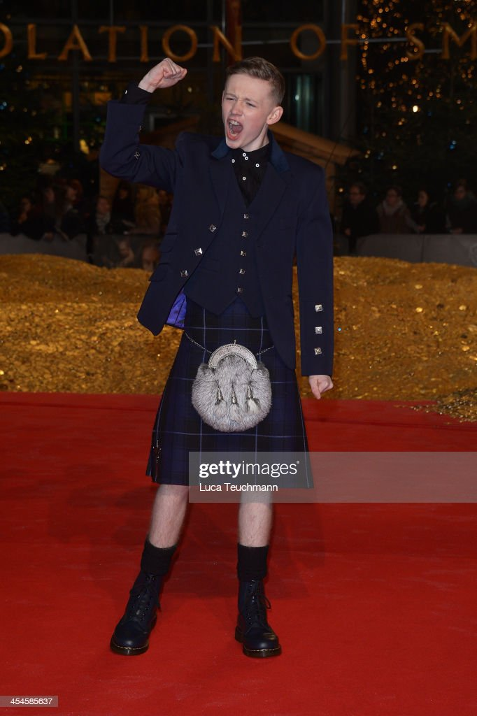 John Bell attends the German premiere of the film 'The Hobbit: The Desolation Of Smaug' (Der Hobbit: Smaugs Einoede) at Sony Centre on December 9, 2013 in Berlin, Germany.