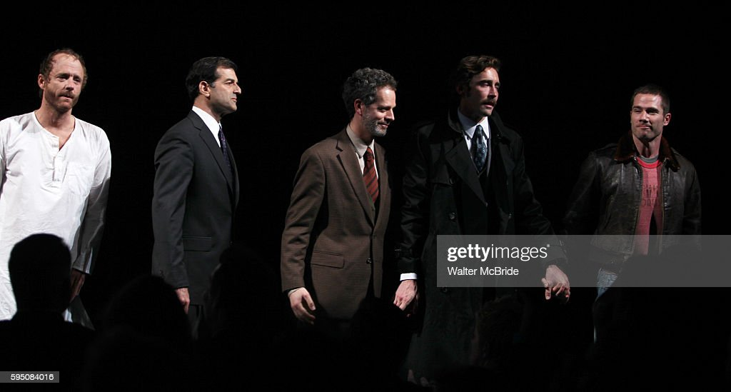 John Benjamin Hickey Mark Harelik Patrick Breen Lee Pace Luke McFarlane attending the Broadway Opening Night Performance for 'The Normal Heart' in...