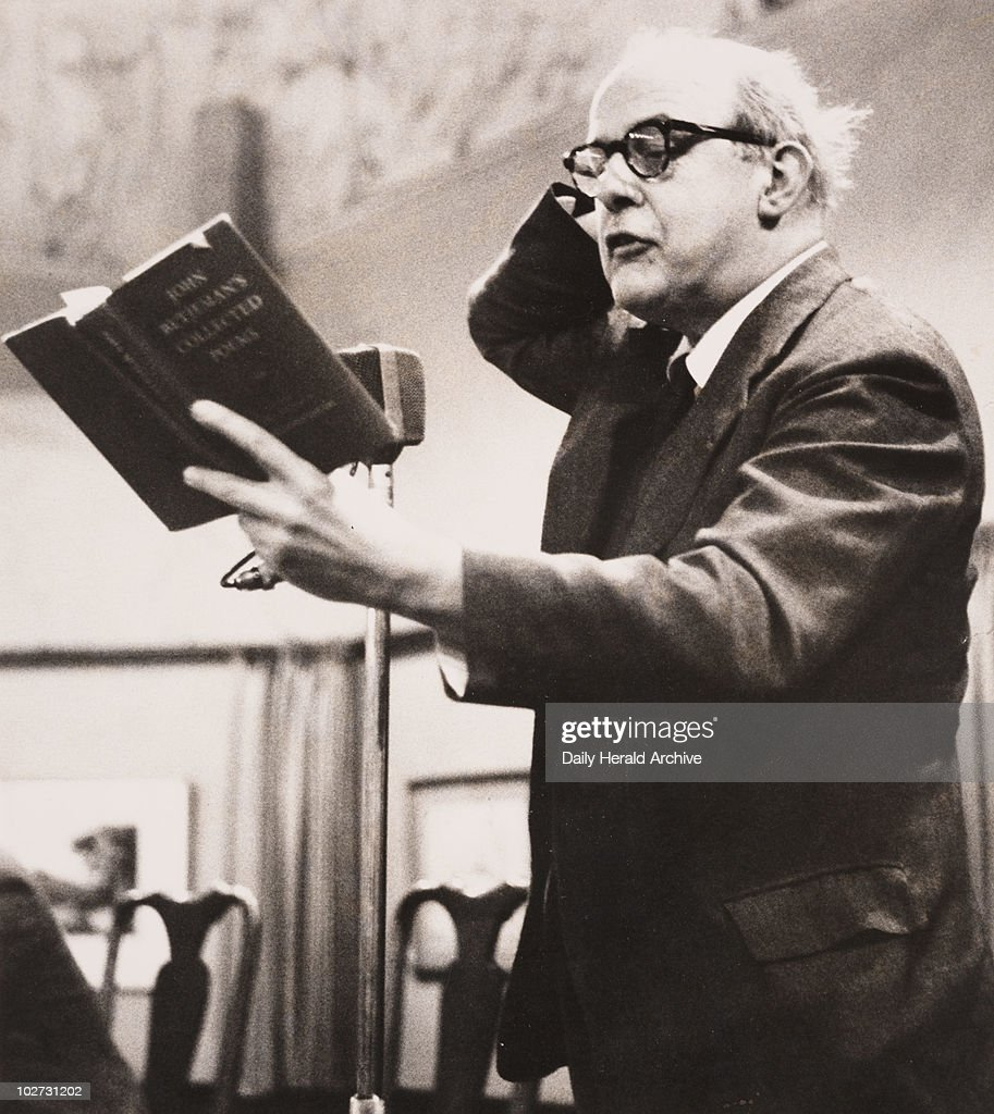 John Betjeman reading his poems