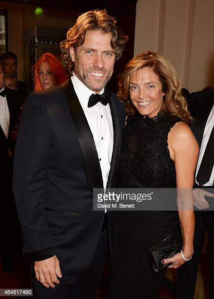 John Bishop and wife Melanie Bishop attend the GQ Men Of The Year awards in association with Hugo Boss at The Royal Opera House on September 2 2014...