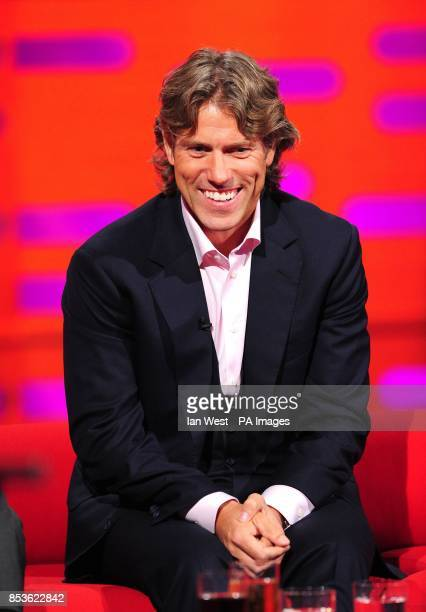 John Bishop during filming of the Graham Norton Show at the London Studios south London to be aired on BBC One on Friday evening