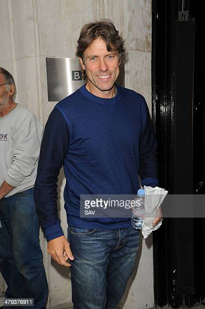 John Bishop is pictured at the BBC on March 18 2014 in London England