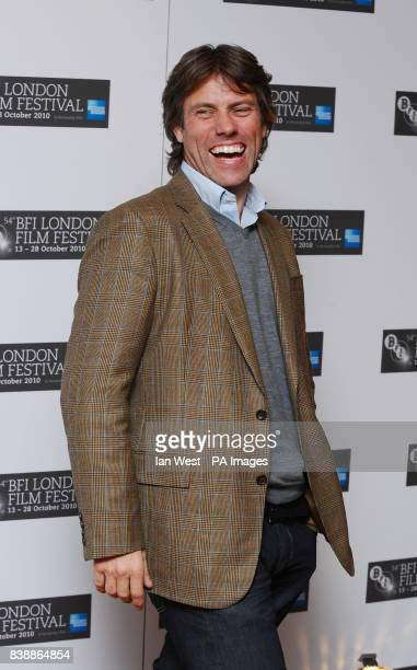 John Bishop is seen at a photocall for new film Abel at the Vue cinema in London