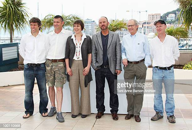 John Bishop Jack Fortune Producer Rebecca O'Brien Mark Womack Director Ken Loach and screenwriter Paul Laverty attend the 'Route Irish' Photo Call...