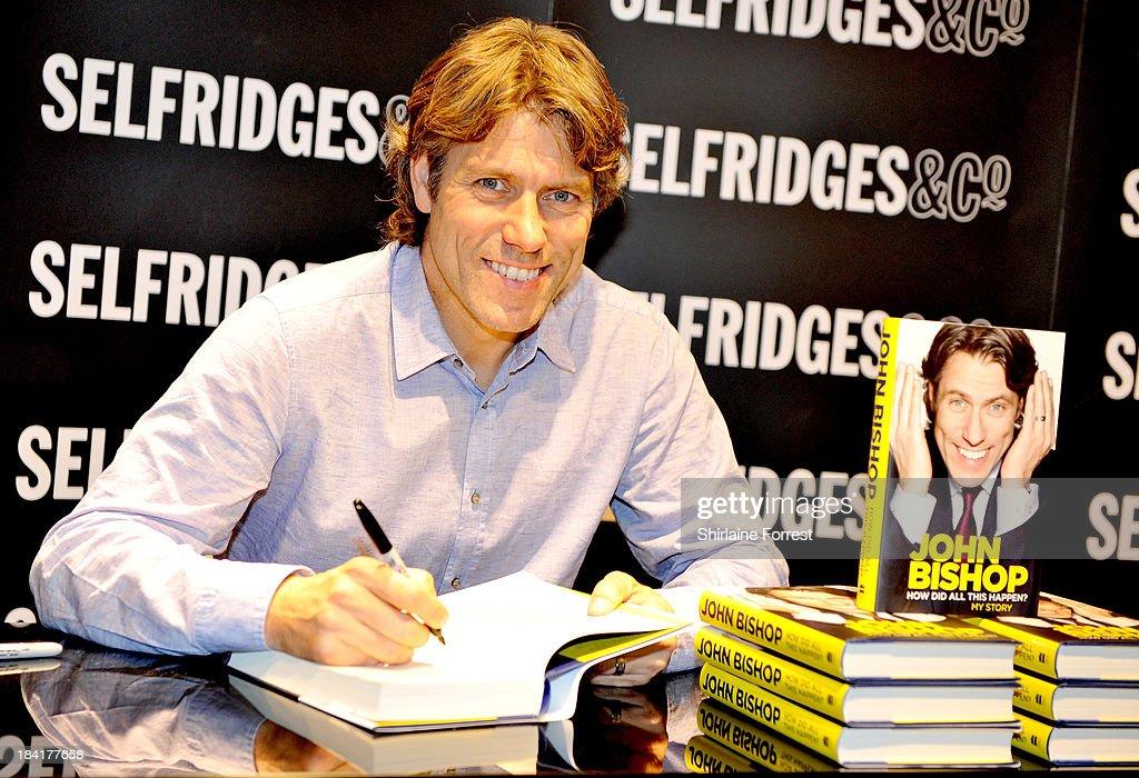 John Bishop - Book Signing