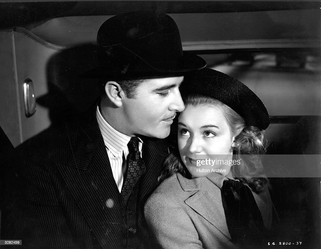 John Boles the American operetta singer and Hollywood actor with Anne Shirley the stage name of Dawn Paris the American child star and leading lady...