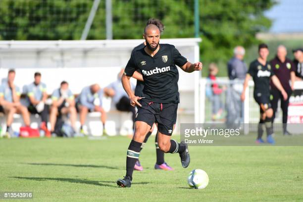 John Bostock of Lens during the pre season friendly match between RC Lens and ESTAC Troyes on July 12 2017 in Itancourt France