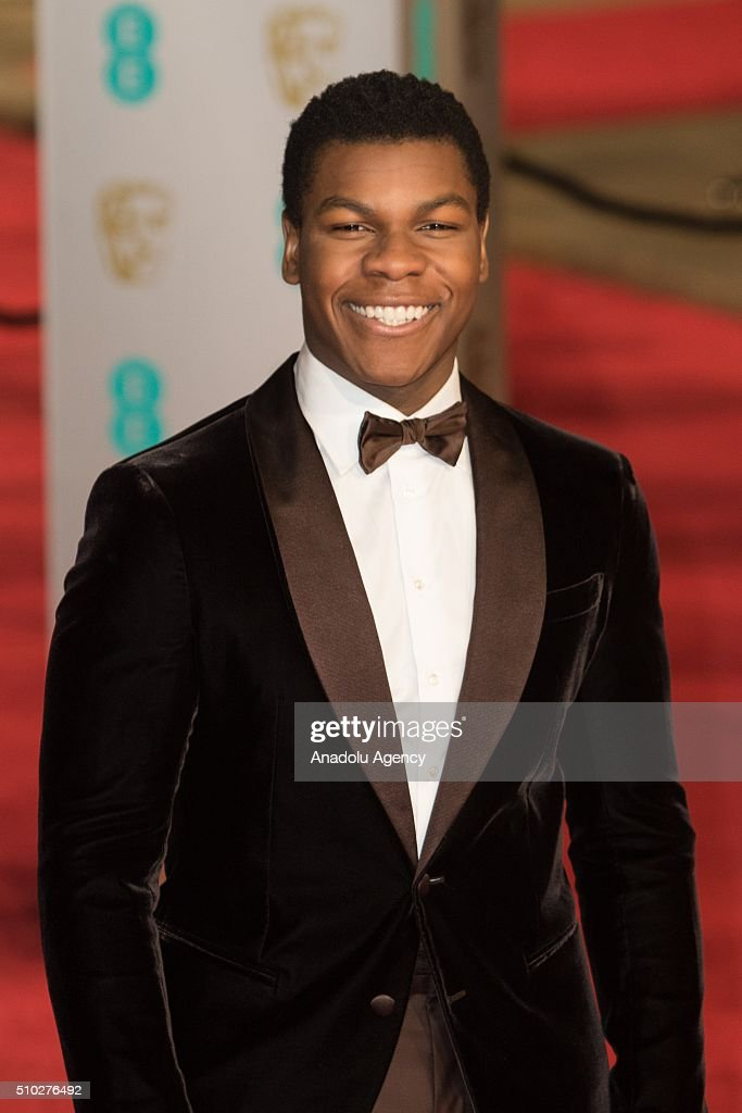 John Boyega attends the EE British Academy Film Awards at The Royal Opera House on February 14, 2016 in London, England.