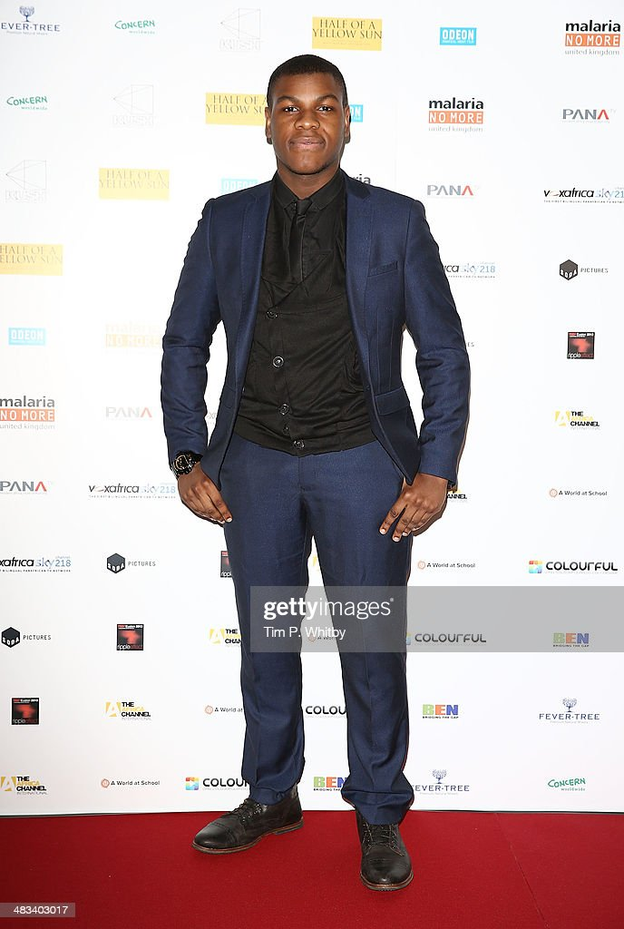 <a gi-track='captionPersonalityLinkClicked' href=/galleries/search?phrase=John+Boyega&family=editorial&specificpeople=7595044 ng-click='$event.stopPropagation()'>John Boyega</a> attends the UK Premiere of 'Half Of A Yellow Sun' at Odeon Streatham on April 8, 2014 in London, England.