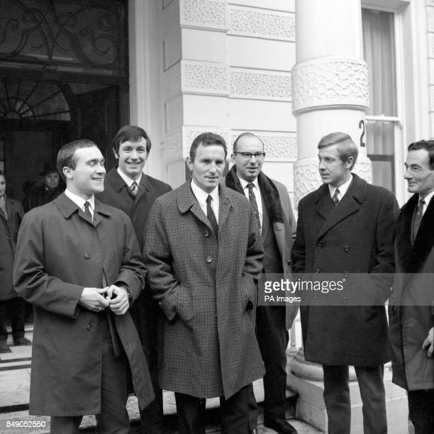 John Boyle leaves the FA's headquarters in Lancaster Gate London after a disciplinary committee decided that no further action should be taken...