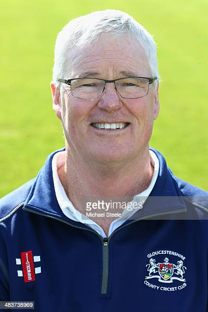 John Bracewell Director of Cricket of Gloucestershire poses for a portrait during the Gloucestershire CCC photocall at The County Ground on April 10...
