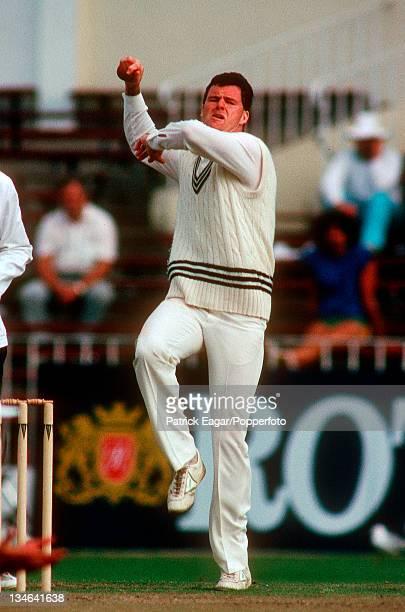 John Bracewell New Zealand v England 2nd Test Auckland Feb 88
